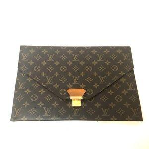 Louis Vuitton large vintage document/clutch bag